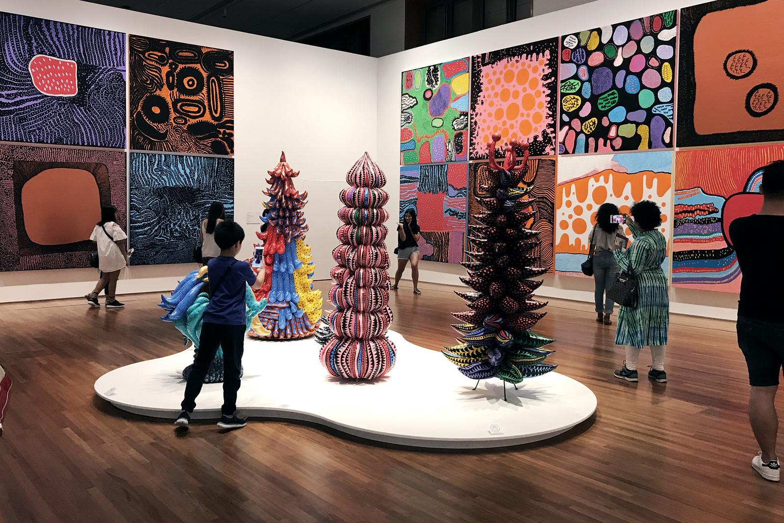 Yayoi Kusama Exhibition