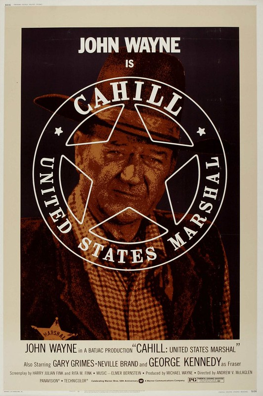 Cahill - U.S. Marshal - Poster 2