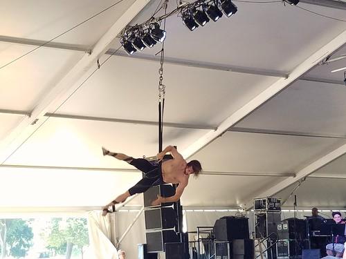 Circus Arts -- Aerialist