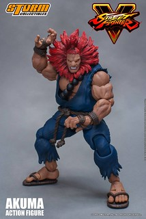 Storm Collectibles 快打旋風5 系列【豪鬼】Street Fighter V Akuma 1/12 比例可動人偶作品