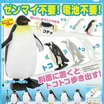 《奇譚俱樂部》 不需要發條、電池的「行走企鵝」轉蛋作品?!さかみちトコトコペンギン