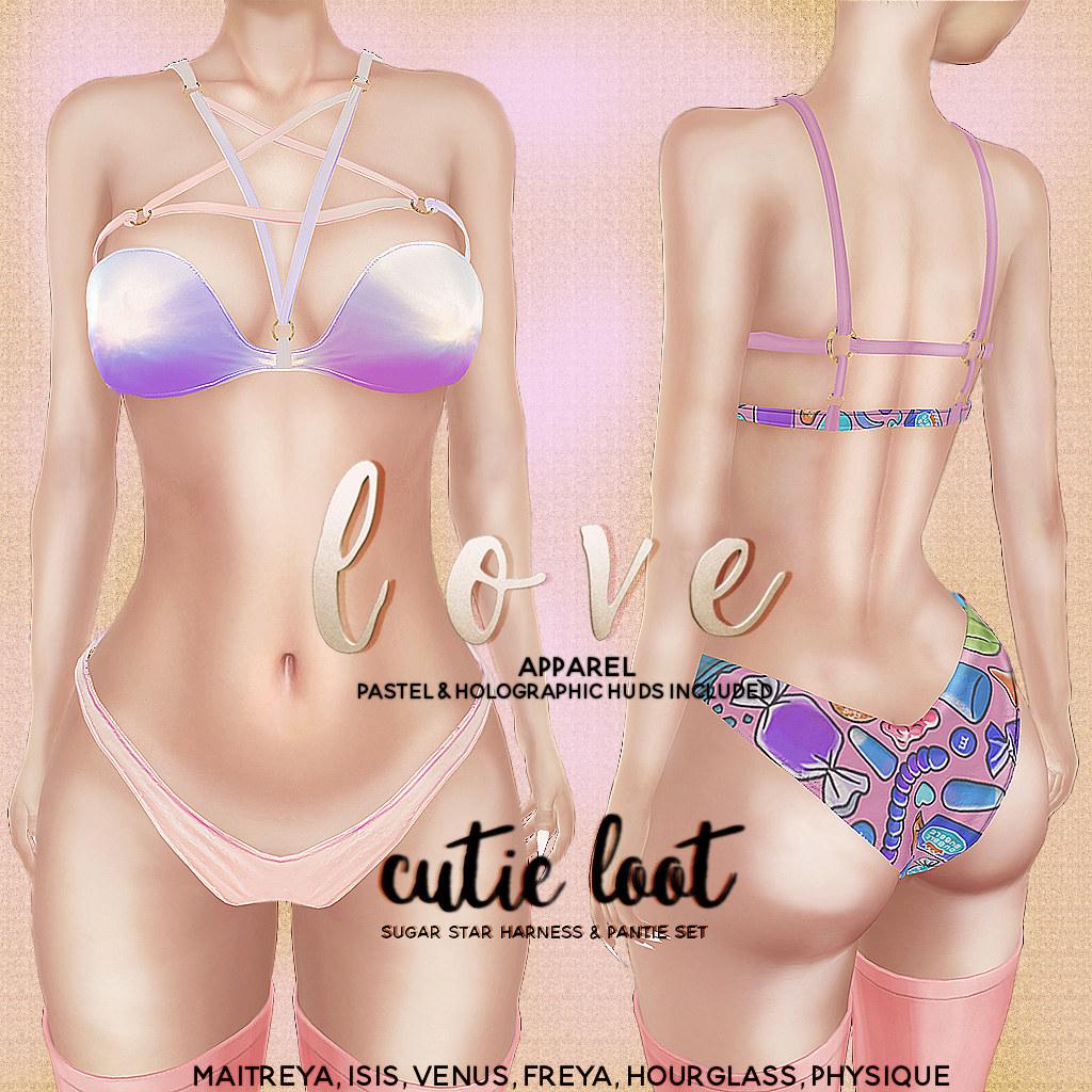 Love @ Cutie Loot July 2017 - SecondLifeHub.com