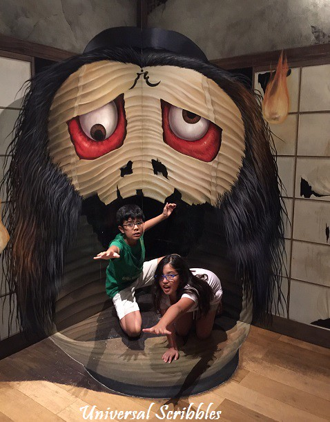 Tokyo Trick-Art Scary Monsters