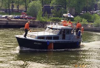 Merivartiokasarmin AV 001 vuonna 1999