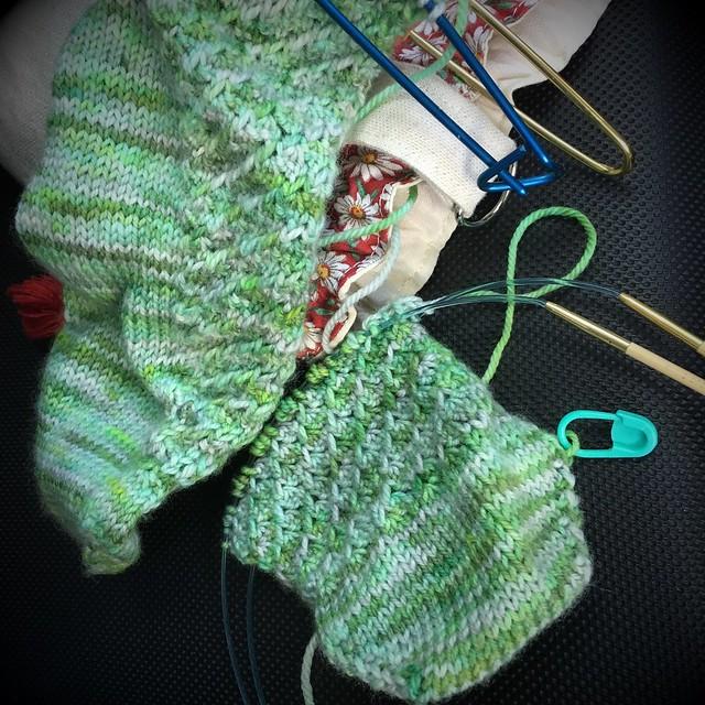 Hyrule sock progress
