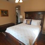 Second floor bedroom bed