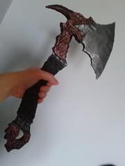 Dragon / Viking axe (wall decoration)