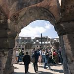 Ground level Colosseum