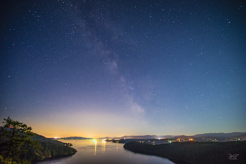 cowichanbay astro astrophotography bc britishcolumbia bulkcarrier cowichan cowichanvalley galaxy haze landscapephotography mist star stars strait trees vancouverisland weather duncan canada ca duncanbc canadaday sony sonya7m2 a7m2 lights lightpollution