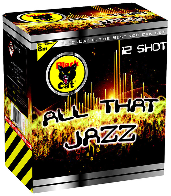 All That Jazz 12 Shot by Black Cat Fireworks