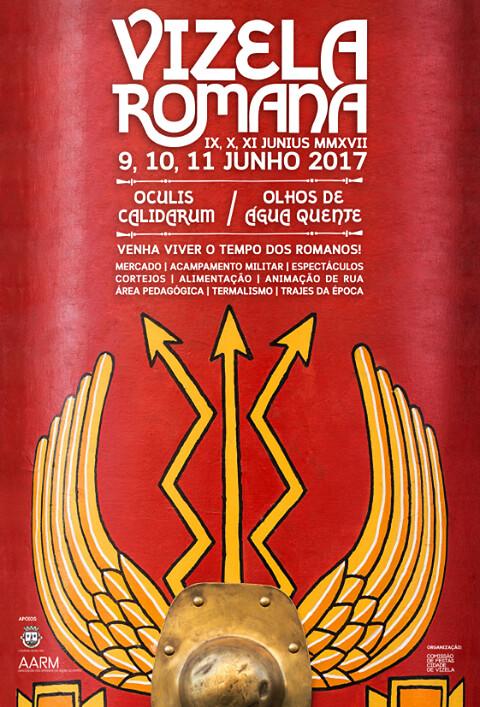 cartaz feira romana Vizela 2017