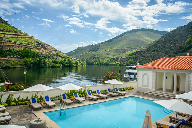 The Pool At The Vintage House Douro Valley