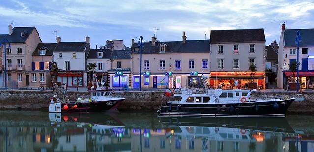 Port-en-Bessin-Huppain Calvados France