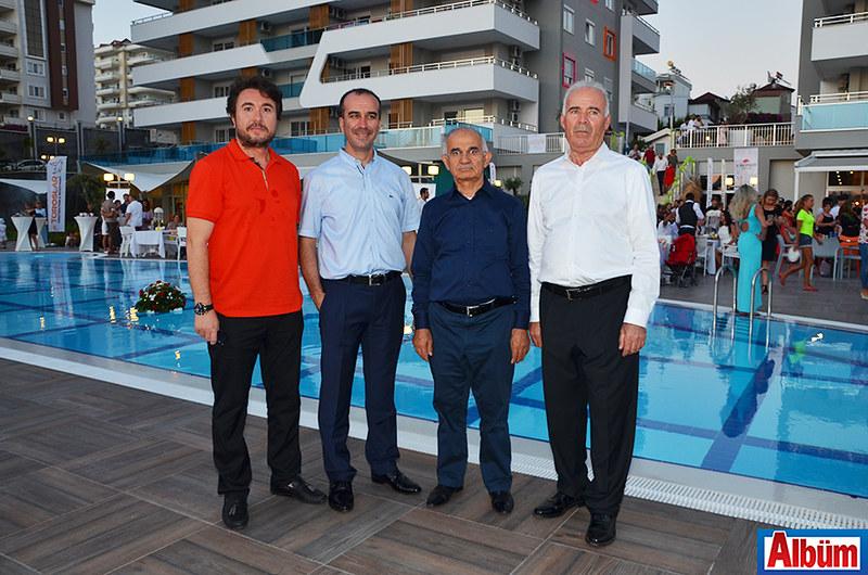 Emerald Dreams proje ortakları Cüneyd Patkavak, Hüseyin Gülseren, Mustafa Özçelik, Hasan Özdemir