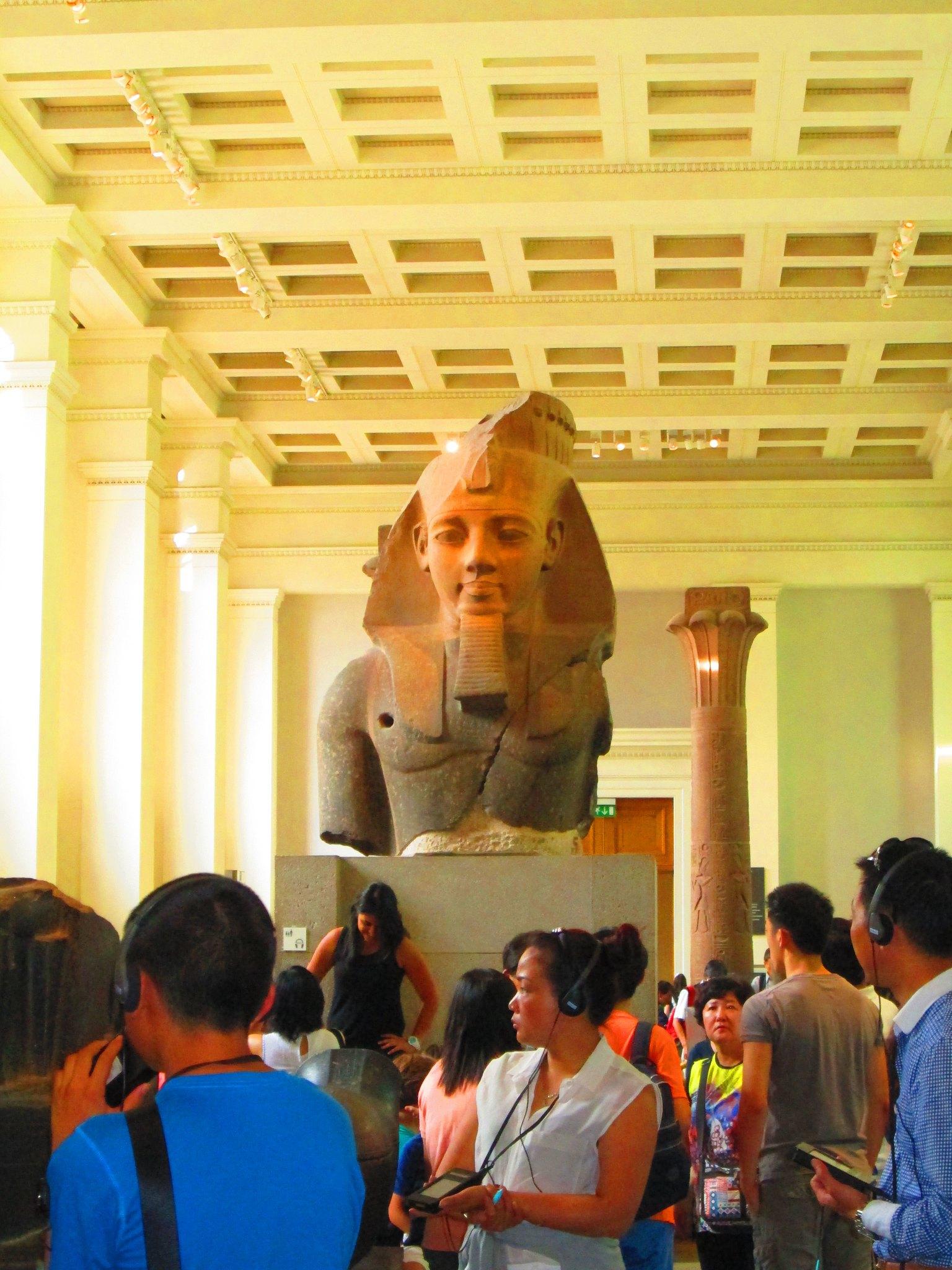 British Museum Amenhotep III Statue