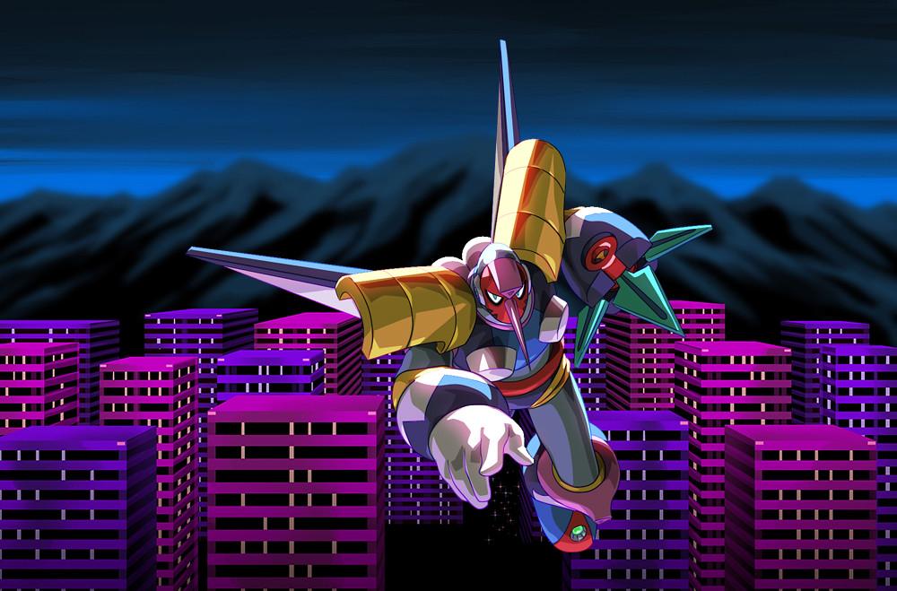 Mega Man Legacy Collection 2: Tengu Man