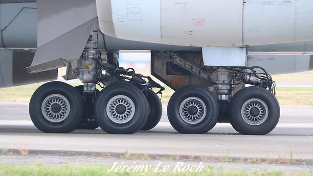 BOEING 747-467F CARGOLUX LX-FCL A L'AEROPORT TOULOUSE-BLAGNAC LE    23 06 17
