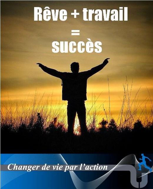 Citations Réussite & Succes: Rêve + travail = succès | Changer de vie par l'action https://citations.tn/citations/citation-de-la-vie/reussite/citations-reussite-succes-reve-travail-succes-changer-de-vie-par-laction/ #LaRéussite