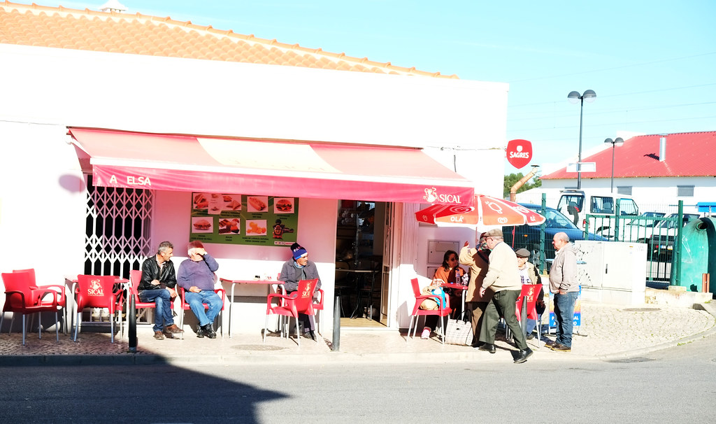 Coffee Time in Albufeira, Portugal