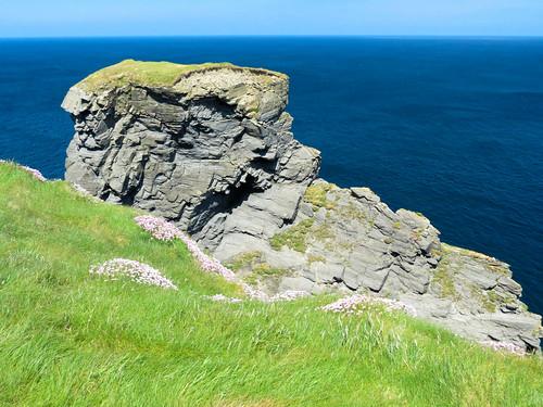 ireland éire eire clare county cliffs wildatlanticway sea ocean foohagh anfhuathach fooagh
