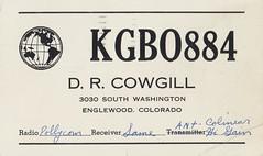 D.R. Cowgill - Englewood, Colorado