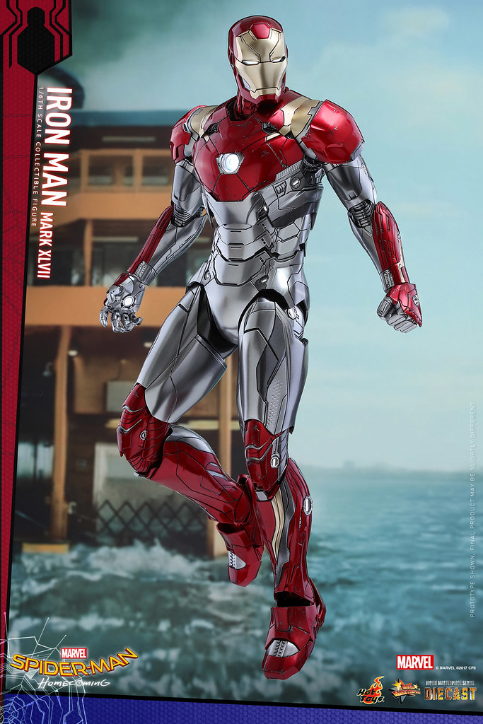 Hot Toys – MMS427D19 – 《蜘蛛人:返校日》– 1/6比例 鋼鐵人馬克47 Spider-Man: Homecoming Iron Man Mark XLVII