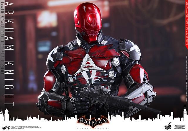 Hot Toys – VGM28 – 蝙蝠俠:阿卡漢騎士【阿卡漢騎士】Arkham Knight 1/6 比例人偶作品