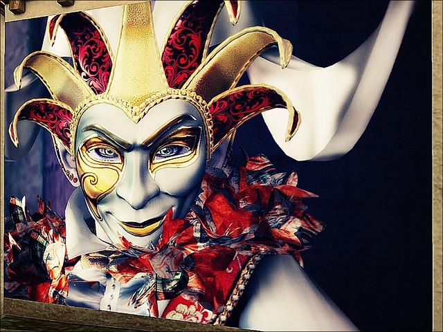 SL14B Beguile - Masked: Carnevale di Venezia- Piercing Jester