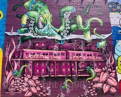 Harman Walls Mural, Bushwick, Brooklyn, New York City