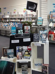 America's Cup display, Linwood Library
