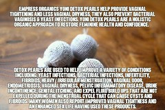 #detox your #vagina with #yonipearls #yonidetox #EmpressOrganics #YoniDetoxPearls help provide #vaginal #tightening and less #vaginaldryness, they prevent #BacterialVaginosis & #Yeastinfections. #YoniDetoxpearl are a #holistic #organic approach to restore