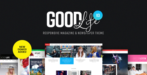 GoodLife v3.0.2 – Responsive Magazine & Newspaper Theme