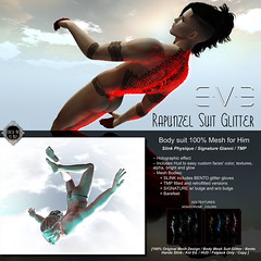 Updated with TMP: E.V.E Rapunzel Suit Glitter for Him