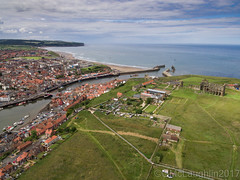 Whitby from above