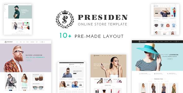 Presiden v1.0 – Multistore Responsive Opencart Theme