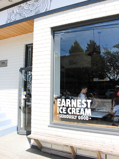 Earnest Ice Cream on Fraser