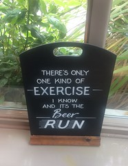 There's Only One Kind Of Exercise I Know And It's The Beer Run Cambridge June 2017