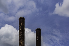 Imperial Sugar - Smoke Stacks 9