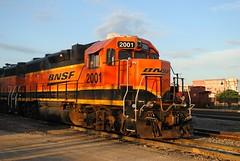 BNSF 2001, Mendota Illinois