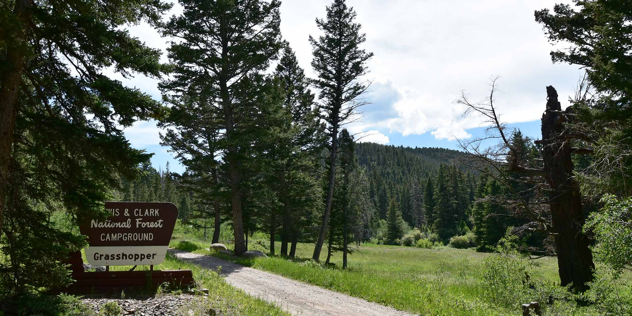 Information about Grasshopper Creek Campground located in the Castle Mountain Range, Montana.