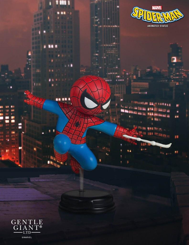 這是飛鴻的起手式吧?!Gentle Giant【蜘蛛人】SDCC 限定 Spider-Man 全身雕像作品