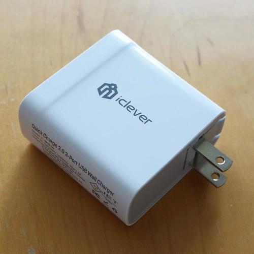 3 port USB charger #製品モニターレビュー中