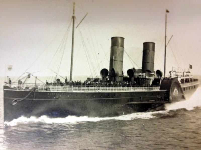 Steamship c. 1887