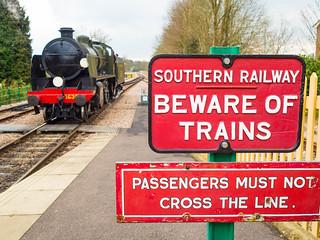 Bluebell Railway East Grinstead Sussex UK