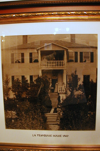 he oldest known photo of Magdelaine's home. From Mackinac Island with the Ghost of Magdelaine La Framboise