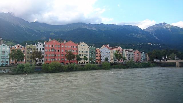 Estampa típica de Innsbruck
