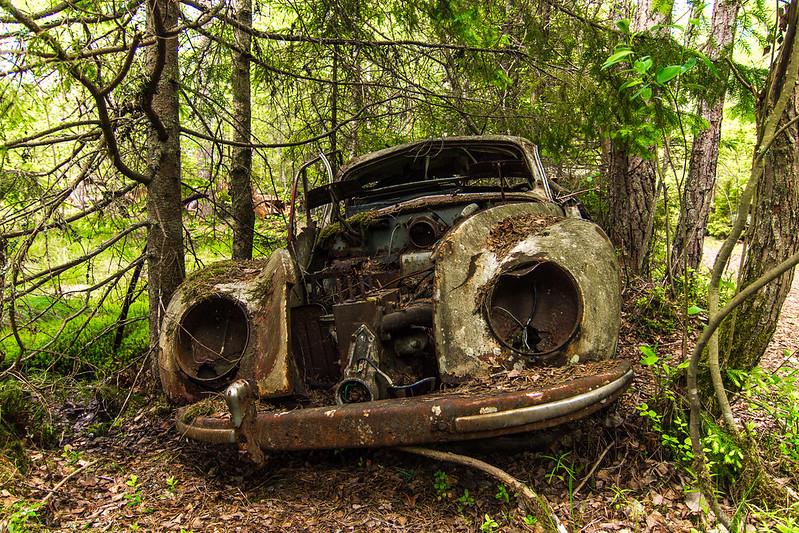 Car Cemetery Kyrkö Mosse