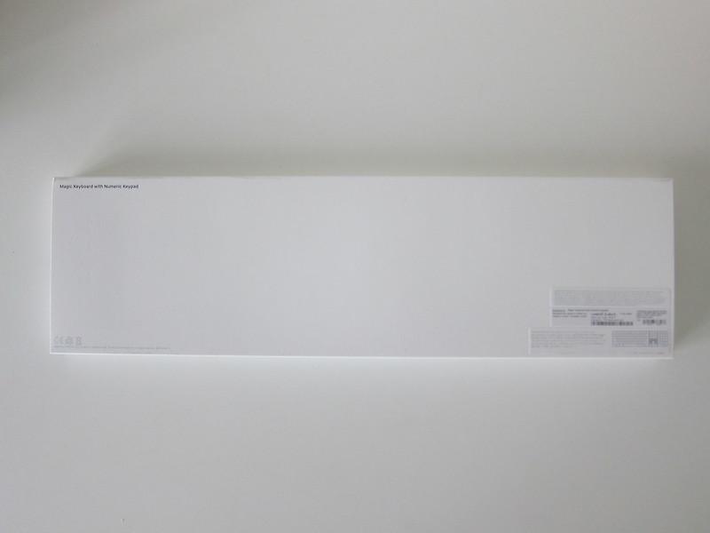 Apple Magic Keyboard with Numeric Keypad - Box Back