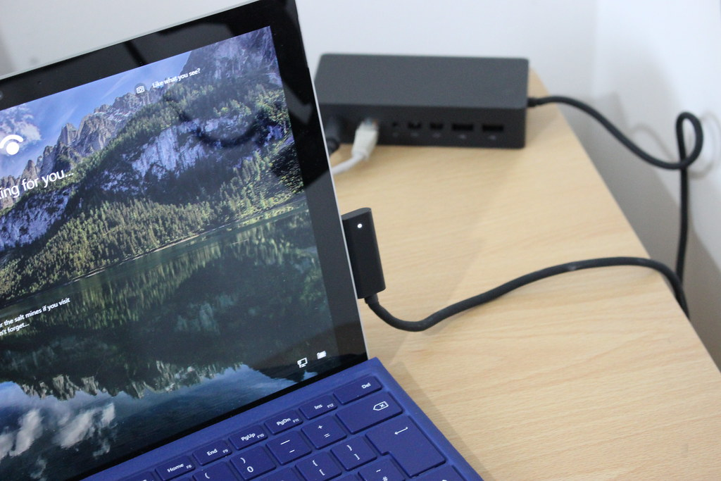 video a quick look at the microsoft surface dock the digital. Black Bedroom Furniture Sets. Home Design Ideas