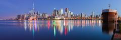 Downtown Toronto Skyline At Dawn
